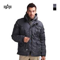 ALPHA COBBS  cotton wadded jacket