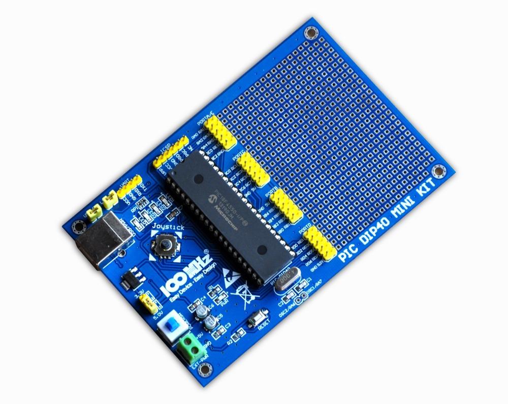 PIC development board PIC DIP40 MINI KIT + PIC18F4431 Microcontroller(China (Mainland))