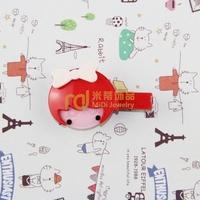Exclusive Sales Acrylic Children Cartoon Headdress Little Girl Barrettes Import Machinery Production