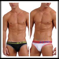 MAN STORE 2xist panties high elastic mesh breathable male trigonometric low-waist briefs men's underwear
