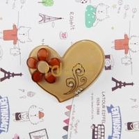 Exclusive Sales Acrylic Children Cartoon Headdress Diamante Sunflower Love Heart Barrettes Import Machinery Production