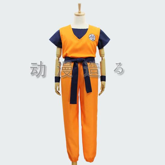 New Dragon Ball Z GoKu Cosplay Costume Fancy Party clothing FREE SHIPPING Anime Dress Full Set(China (Mainland))