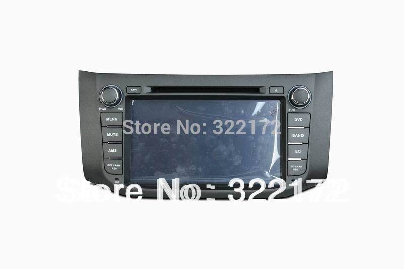 Car Radio Audio DVD Player GPS For NISSAN SYLPHY B17 2012~2014 Free Shipping(China (Mainland))