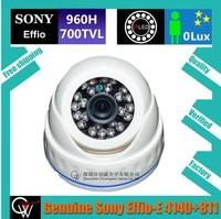 Original 24 LED 960H CCD 700TVL IR surveillance Color Night Vision Indoor security CCTV Dome Camera+Free Shipping