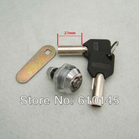 23mm long tubular key with lock.safty box key.anti-theft blank key with lock