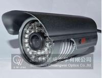 "36 LED 1/3"" Sony Effio CCD 960H 700TVL OSD menu IR 30m outdoor bullet waterproof CCTV camera with Bracket . Free Shipping"