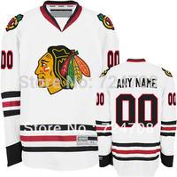 KIDS Personalized Customized chicago blackhawk jerseys Ice Hockey Jerseys Cheap China Hockey Jerseys Number & Name Sewn On