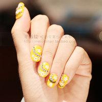 Finger 3d three-dimensional applique delicate nail art 80 b