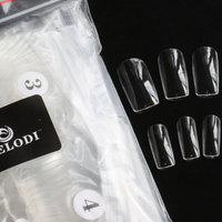 Melodi seamless ultra-thin transparent nail art false nail 500 bag