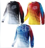 Troy Lee Designs GP Voltage Jersey  MX DH Offroad Cycling Bicycle Bike Sports TLD Jersey Wear T-shirts 3 colors  XS~4XL