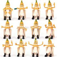 Bad banana decoration dolls small 12 full set evil banana doll pendant