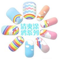 hot sale cheap fashion Melodi fresh doodle series nail art nail polish oil eco-friendly maternity