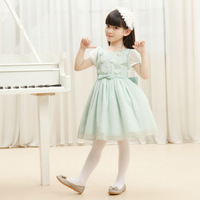 2013 spring and summer female child one-piece dress child princess dress pleated skirt dress