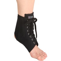 Banded ankle support aluminum protective built-in