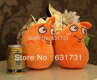 Cute Plush Toys! 2014 Hot Sale Fashion Children Soft Toy Plants VS Zombles Toys Mini 18CM Lovely Stuffed Doll Coffee Bean 1pcs