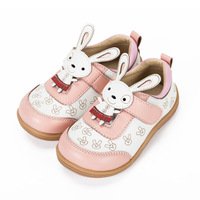 2013  new arrived leather girl  child princess cartoon  shoes sweet baby leather sneaker