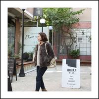 Ladies small short coat design fur berber fleece outerwear 2013 female  Free Shipping