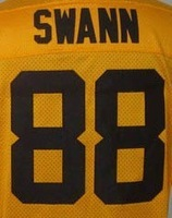 Free Shipping #88 Lynn Swann 1933 throwback Men's Elite Football Jersey,Embroidery and Sewing Logos,Size M--3XL ,Mix Order