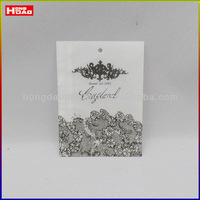 popular butter paper clothing hang tag design