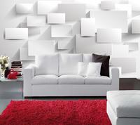 home art decor Large white 3d mural tv background wallpaper sofa wallpaper mural personalized