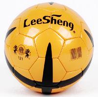 LEESHENG 121 Official 5# PU senior bright surface soccer /Good elasticity football outdoor indoor all season all condition