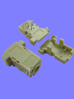Db9 shell plastic 9 needle serial rs232 button  factory sale directly