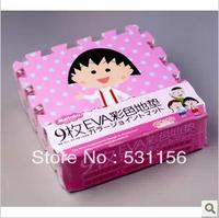 9 Pcs / set ,Cartoon foam mats puzzle eva patchwork floor child crawling mat eco-friendly ,30x30x1