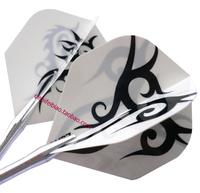 Free Shipping Professional  Darts Flights Dart Accessories WHITE
