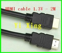 Free shipping 6.7ft hdmi cable ,1.3v 1080P FULL HD,300pcs/lot