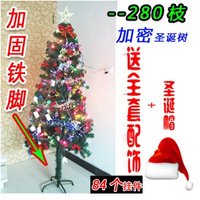 1.5 meters christmas tree bundle Christmas decoration christmas cap 150cm encryption christmas tree