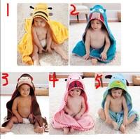2014 Limited Sale Animal 0-3 Months Toalha De Banho Toalha De Banho Infantil Lucky Cartoon Style Bathrobe Child Bath Towel 4