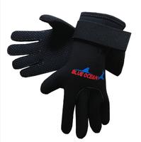 Submersible gloves thermal slip-resistant wear-resistant wrist length velcro snorkeling supplies