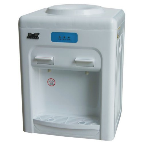 free shipping Yanerwo t15 major household desktop water dispenser small cold and hot water dispenser mini(China (Mainland))