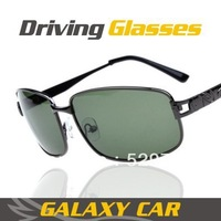 2013 new Night special drivers polarized sunglasses men, highlight glasses men,Metal materials sunglass free shipping