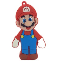 Retail character 4gb/8gb/16gb/32gb usb flash drive Memory Stick usb pen drive cartoon flash drive Super Mario Free shipping