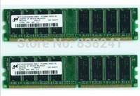 For Original Micron 1G DDR 400 PC3200 desktop memory compatible 333,266