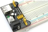 Freeshipping 5pcs/lot Breadboard Power Supply Module 3.3V 5V MB102 Solderless Bread Board