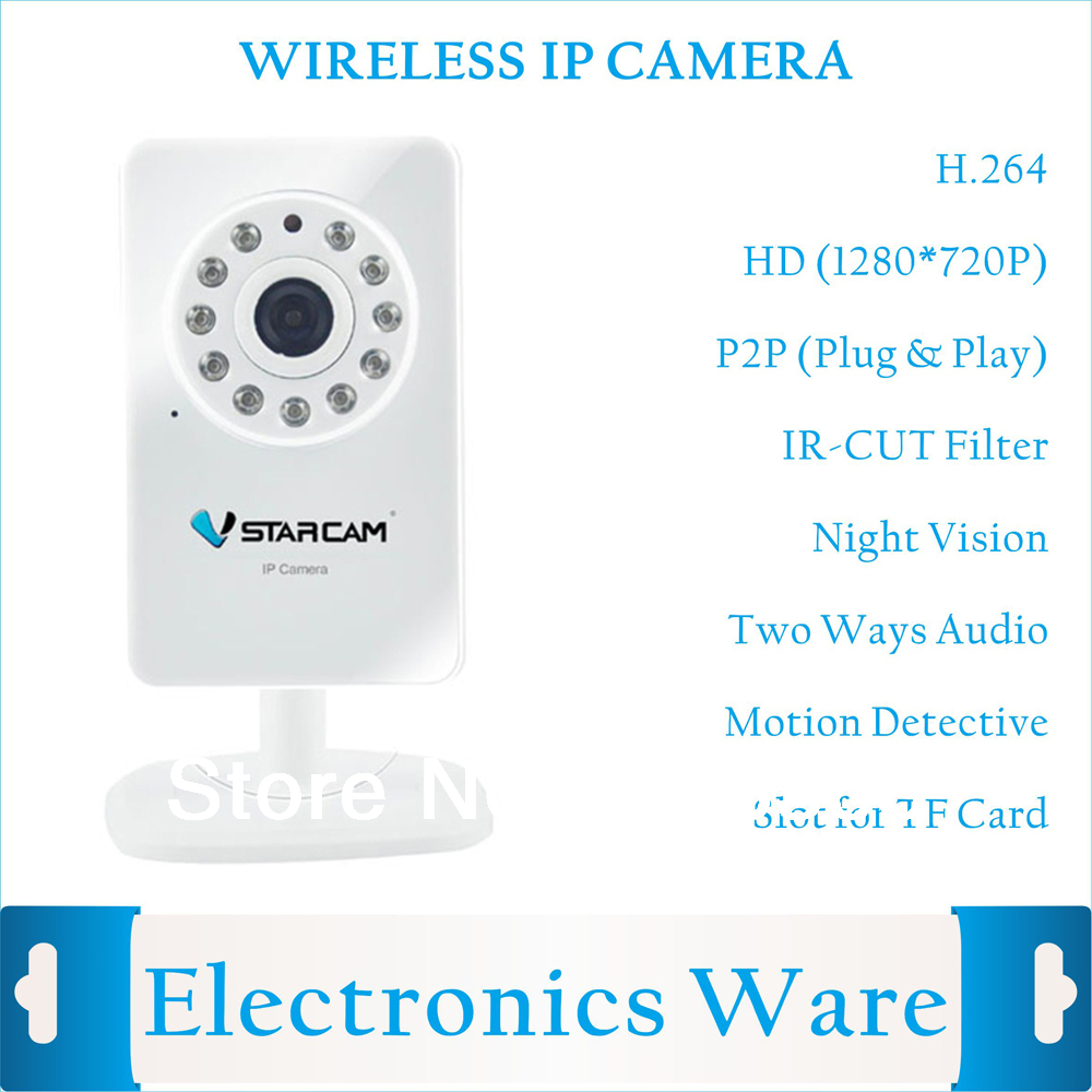 Камера наблюдения h.264 HD P2P /sd PT IP Wifi 720P PC free shipping wholesale h 264 home security ir outdoor p2p cloud bullet ip camera 1 0mp hd 720p