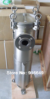 stainless steel bag filter housing for water treatment, side-line mould cover, 40m3/h
