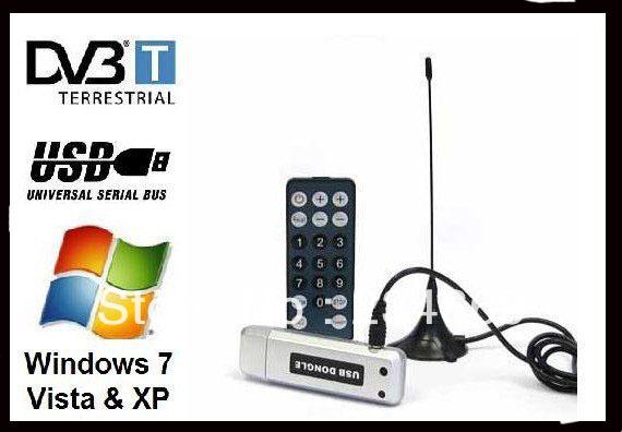 Satellite TV receiver USB DVB-T 2.0 Digital TV Stick Digital HDTV TV Tuner Digital TV Receiver For PC Laptop+Retail box(China (Mainland))