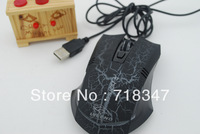 6d wired mouse usb gaming mouse translucidus variable speed
