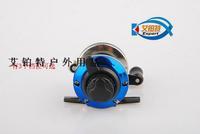 Free shipping fishing reel special mini reel wheel rotation round ice fishing gear