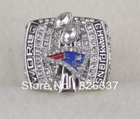2003 fashion england patriots super bowl football Championship Rings Free shipping