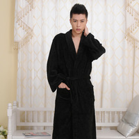 2013 High Quality Coral Fleece Fashion Men Sexy Home Pajamas Autumn Winter Men's Sleepware Cloth Free Shipping
