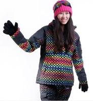 snow clothes women winter sport ski suit Windproof girl ski suit  snowboard jacket women ski suit top snow  skiing clothing