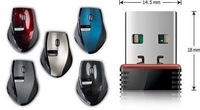 USB, 2.4 G wireless mouse, notebook computers, desktop computers, free shipping, fashion and convenient.