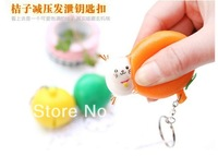 NEW Arival !!  3 Colors Orange Squeeze Lucky Cat toy  Squishy Charm  with original package