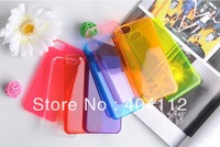Candy Colorful Transparent Crystal Hard Cover Case For iPhone 5C,Clear hard case for iphone 5C