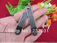 Trumpet 61 * 11 packing box hinge hardware support / support hinge / bronze hinge / hinge wooden support