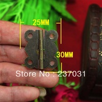 Antique butterfly hinge / wooden gift box accessories / butterfly hinge 25 * 30MM1/80 degrees Butterfly Hinge